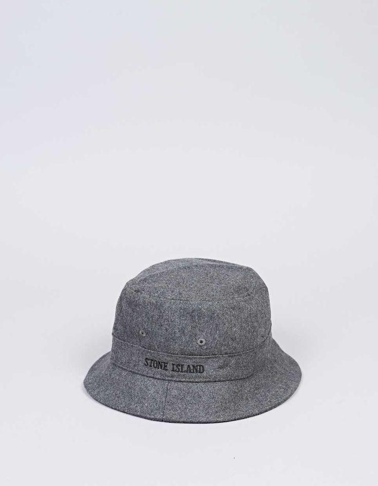 Stone Island.  Wool Bucket Hat