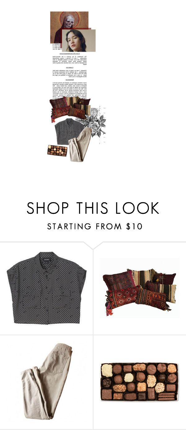 """& a song"" by the-clary-project ❤ liked on Polyvore featuring Boudicca, Monki, Commune, American Apparel and bathroom"