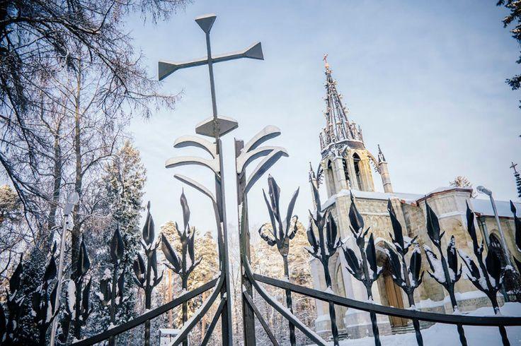 Удивительные фотографии из Шуваловского парка в Петербурге.
