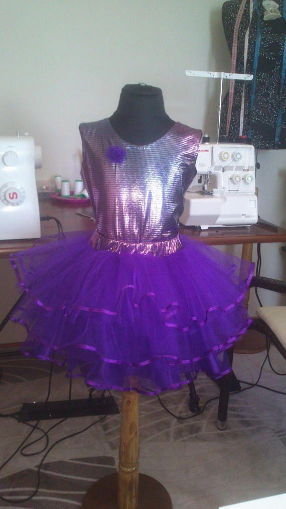 Юбка-пачка.Юбка-туту.Set skirt tutu purple tulle for girls