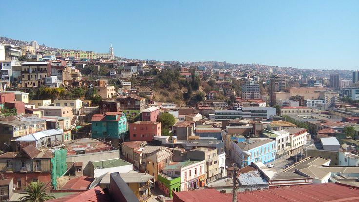 Valpo desde el Cerro Monjas