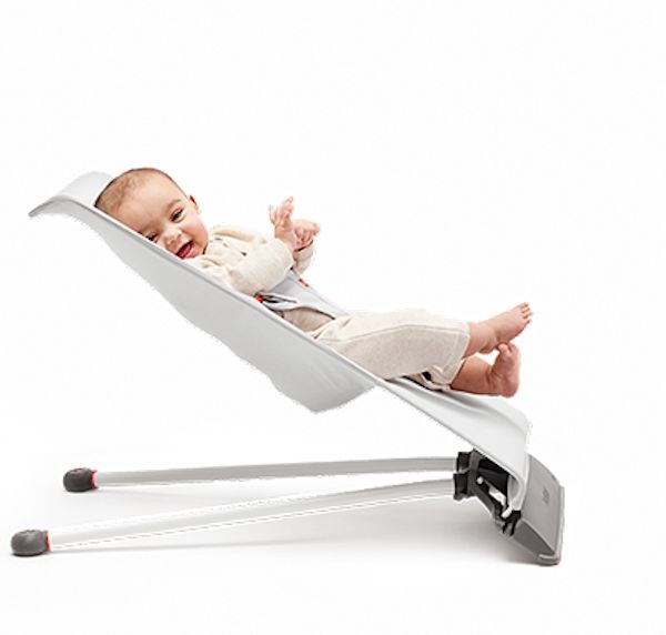 The minimalist Baby Björn mini is all you need when it comes to baby bouncers.