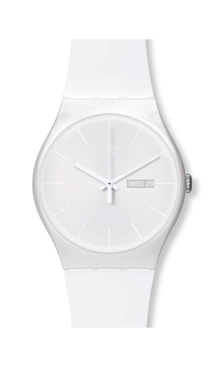 Wish list: Swatch WHITE REBEL - SUOW701