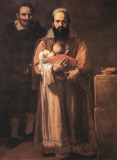 A mulher barbada por José de Ribera 1631