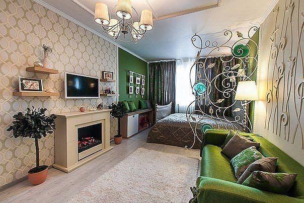 Спальня/гостиная/ажурная перегородка