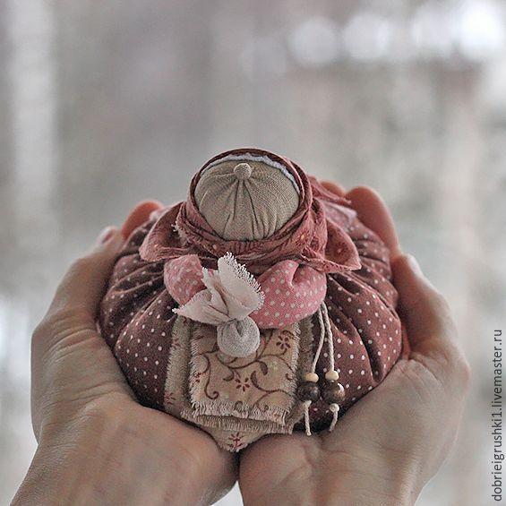 Купить Куколка Бабусечка с мешочком трав - кукла ручной работы, бабушка, подарок, сувениры и подарки