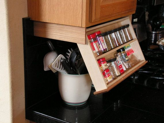ADD STORAGE TO YOUR KITCHEN  By adding this drawer underneath your upper cabinet you will create more storage space in side your cabinets, or