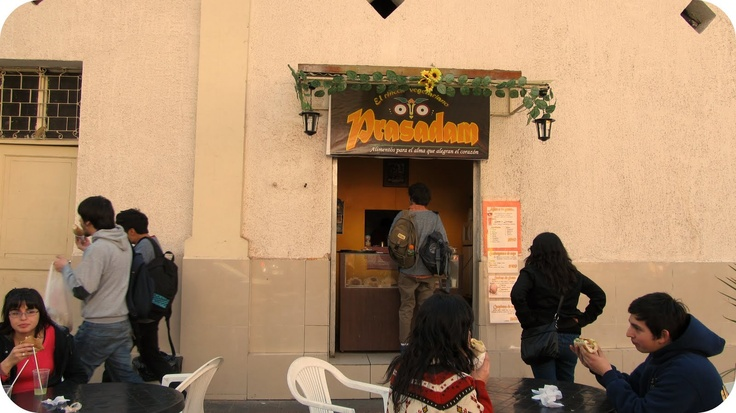 Comida Vegetariana en Barrio Universitario