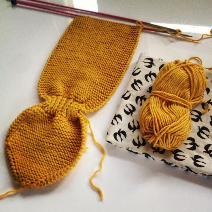 spicalili tuto tricot écharpe feuille et moufles