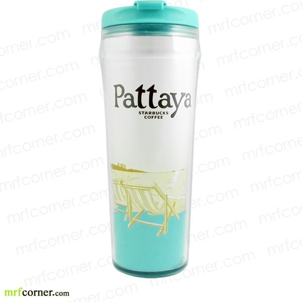 S368 12oz Starbucks Pattaya Global Icon City Tumbler