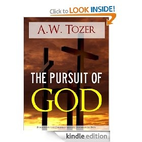 The Pursuit of God  by A.W. Tozer {I want to read this!}