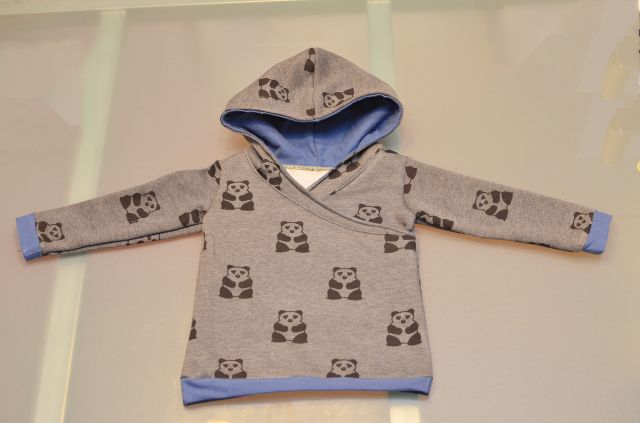 Free Pattern gender neutral hoodie