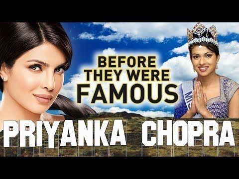 PRIYANKA CHOPRA - Before They Were Famous - HOT BIOGRAPHY - YouTube