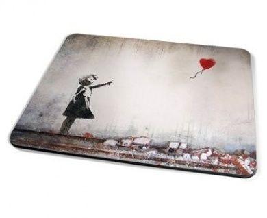 Banksy Heart Balloon Placemat