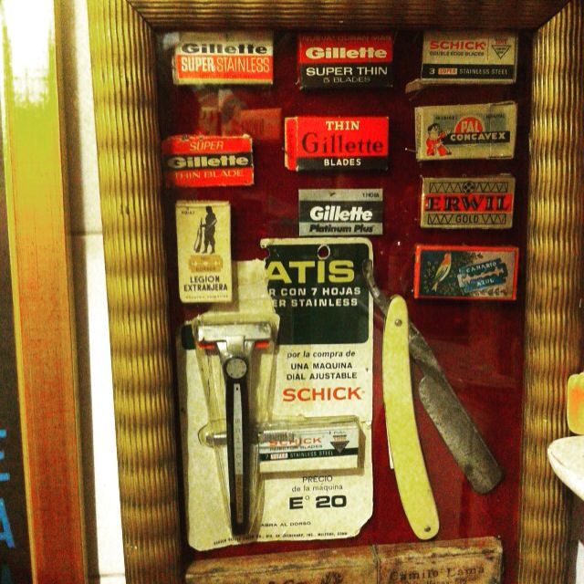 Afeitadoras antiguas