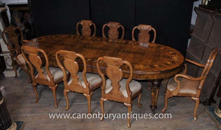 Chippendale sedie ~ Photo of regency pedestal table set chippendale dining chairs