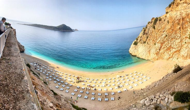 Good morning from most beautiful Turkish tiny beach - #Kaputas that is located between #Kas and #Kalkan on the way from #Fethiye to #Antalya