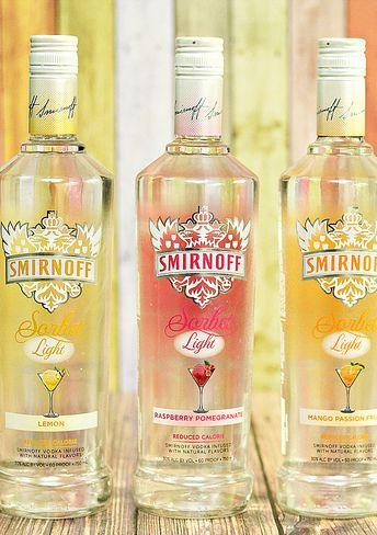 Get a sweet surprise with Smirnoff's new Sorbet light cocktails! Only 78 calories. Find delicious summer drink recipes here.