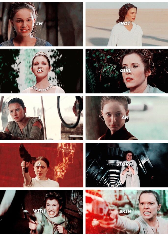 rey and leia relationship