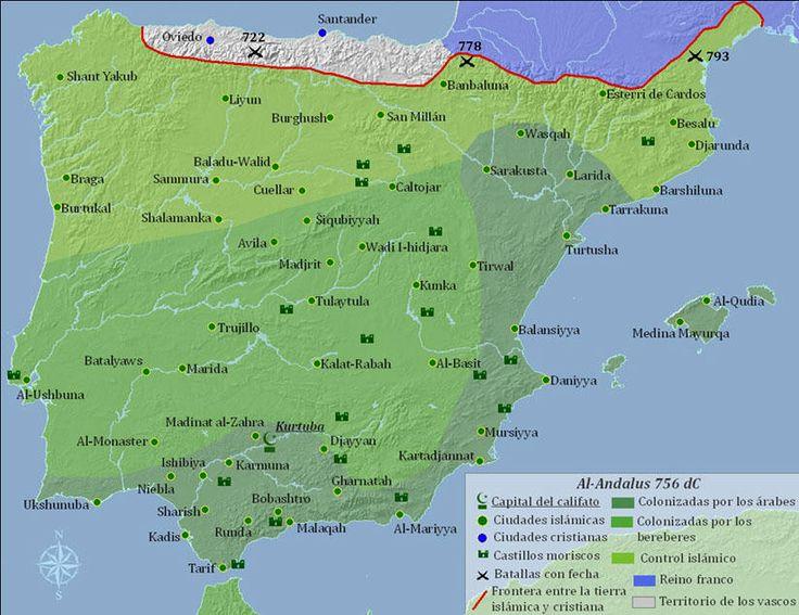 La organización territorial de al-Ándalus