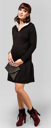 Sissy black Maternity dress