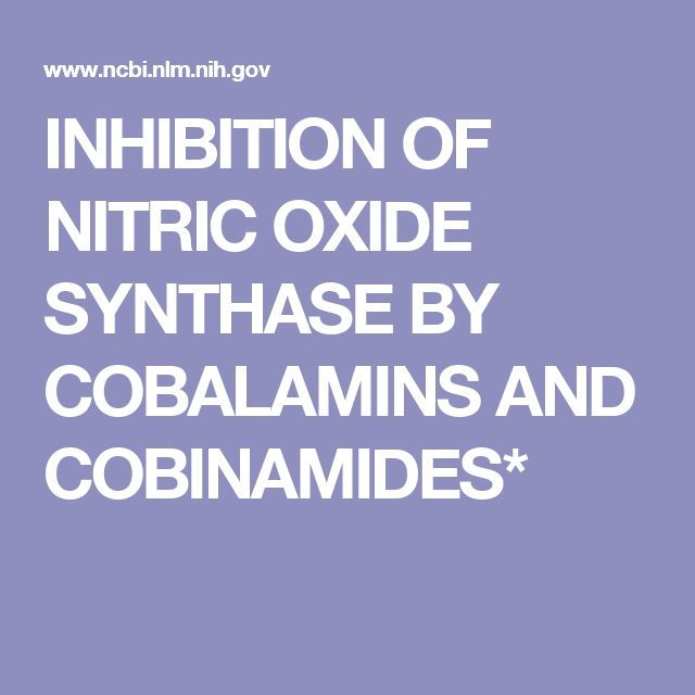 INHIBITION OF NITRIC OXIDE SYNTHASE BY COBALAMINS AND COBINAMIDES*