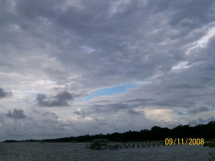 James Island, SC : Cloudy Day at Sun Rise Park