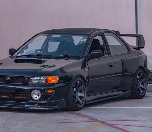 日本国内の自動車 — radracerblog:   Subaru Impreza STi Coupe gc8