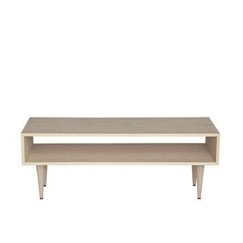 """Urbangreen Furniture Midcentury Coffee Table $431-531, many different finishes  Dimensions:  •Overall: 18"""" H x 48"""" W x 18"""" D"""