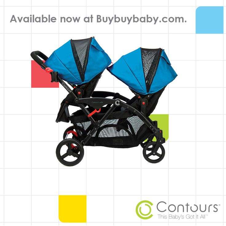 The Contours Options Elite Tandem is now available at BuyBuyBaby.com in both Laguna Blue and Envy Green.  Coming soon to a Buy Buy Baby store near you!