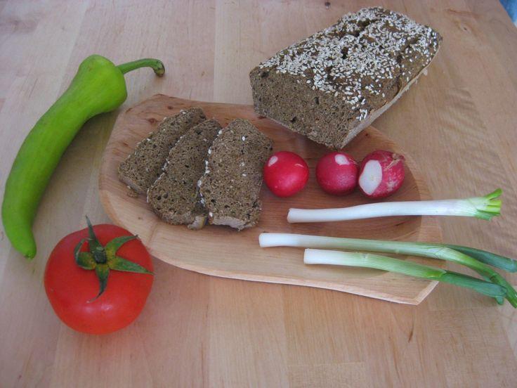 Egészséges kenyér (gluténmentes, tejmentes, paleo) | Naturorganic