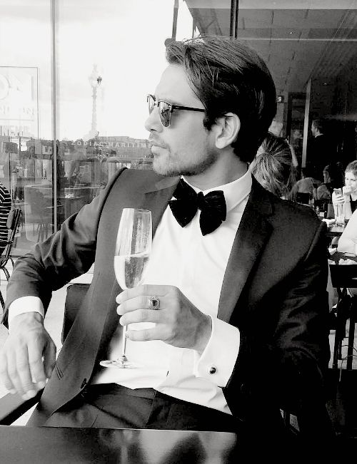 Luke Pasqualino: So stylish, so classy, so sexy
