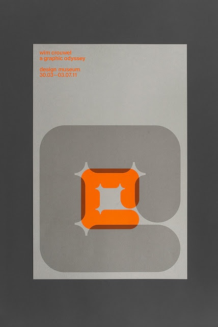 Wim Crowel Tribute Poster by Spin