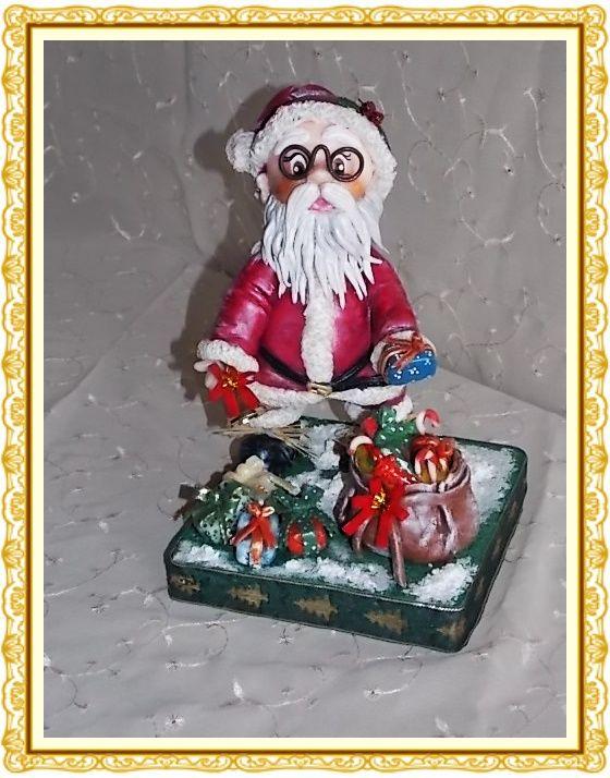 Babbo Natale con doni