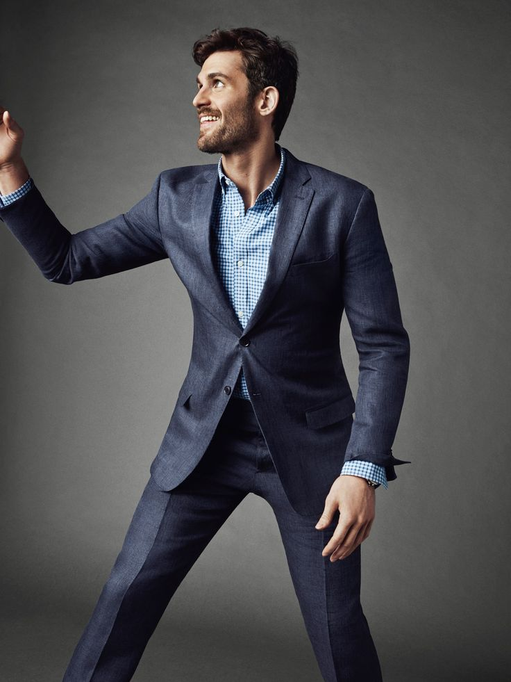 Kevin Love, a polished, classic Banana Republic Monogram suit -- perfect for the summer | Are You Sure?! Really?! Dislike the Colour of that Suit, the Colours in this Photo ...... Too Dark for Summer! And, Wow, No Basketball Again?! LOL | 2016-08-10