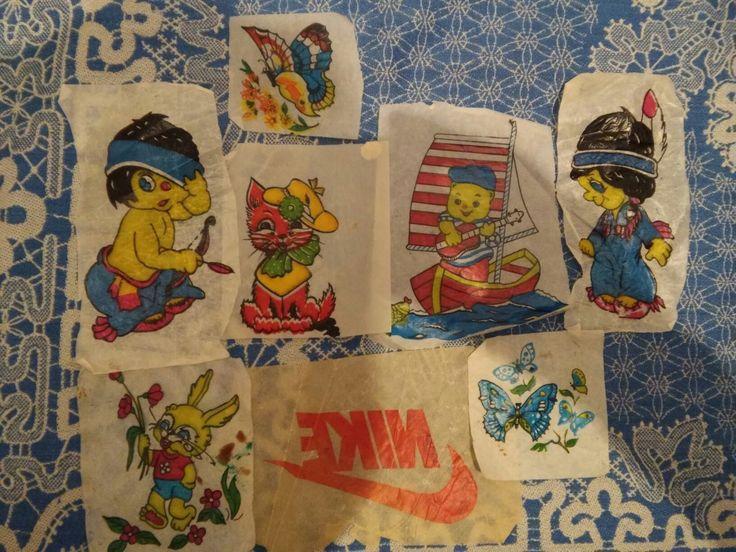 Наклейки Индейцы, бабочки. Восстанови советское детство - http://samoe-vazhnoe.blogspot.ru/