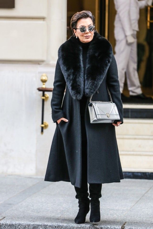 44 Best Kris Jenner Images On Pinterest Fur Coats Furs And Kris Jenner