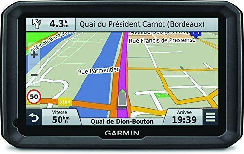 Garmin dezl 770LMT – GPS Poids Lourds Écran 7 Pouces – Appel Mains Libres et Commande Vocale – Info Trafic et Carte (45 Pays) Gratuits à Vie