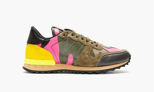 Valentino Spring 2014 Running Sneakers