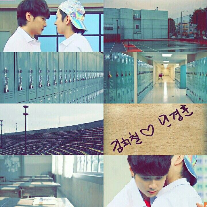 Knowing brothers min kyunghoon kim heechul kyungchul school au aesthetic