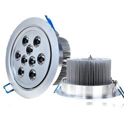 9w led recessed ceiling down light spot lamp dimmable 12v