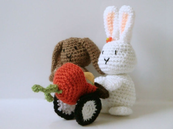 Amigurumi Pattern  Easter Crochet  Bunny  by MysteriousCats, £3.99