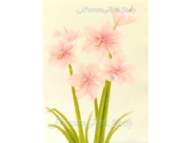 "Original Pastel Drawing ""Lily"""