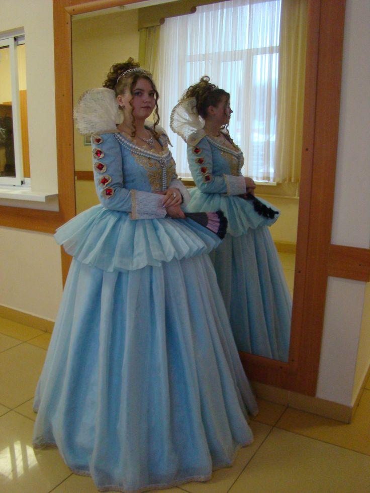Как сшить платье эпохи возрождения