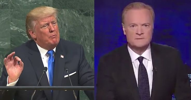 Watch: MSNBC's Lawrence O'Donnell Freaks Out On Trump's UN Speech