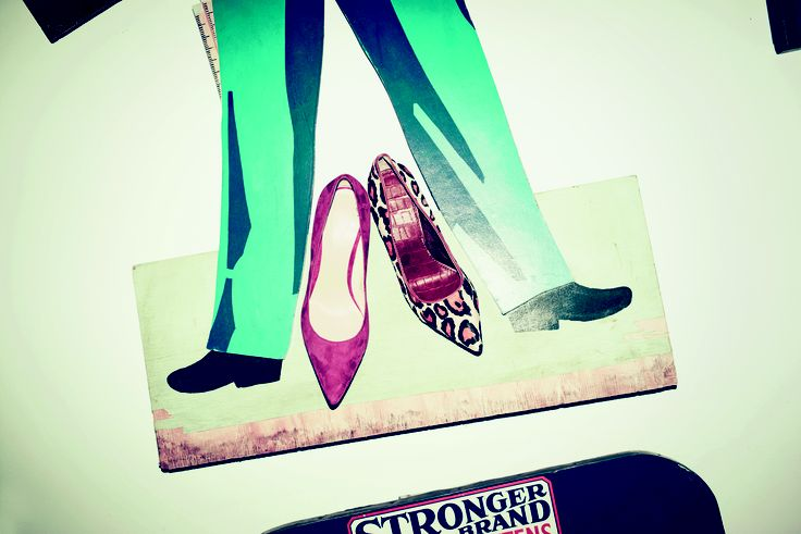 Finish off any outfit with a pair of statement shoes!