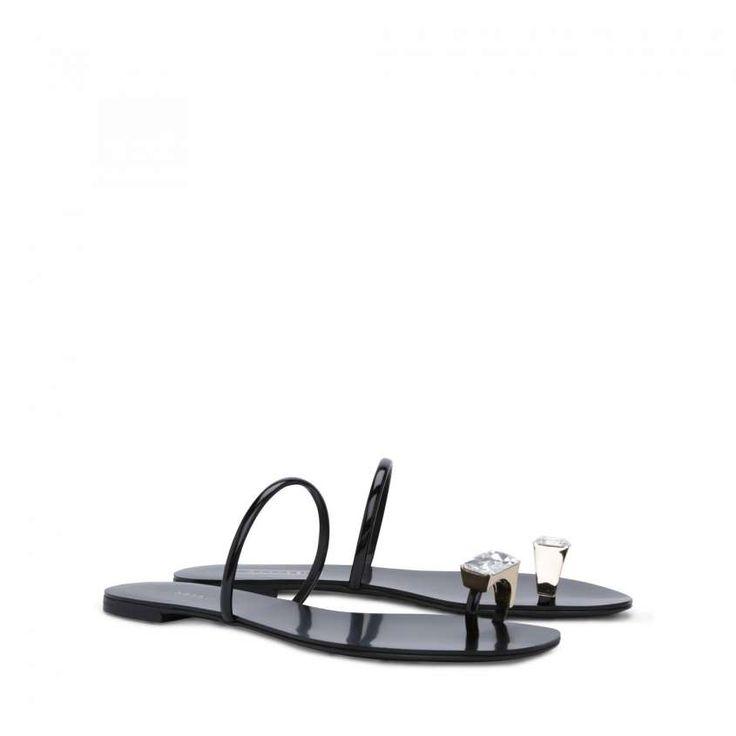 Collezione scarpe Casadei Primavera Estate 2015 - Infradito gioiello