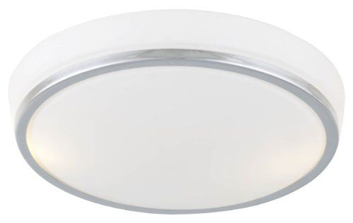 """DVP7242ORB-OP 12"""" Georgetown  Flush Mount with Opal Glass Shades, Oil Rubbed Bronze"""