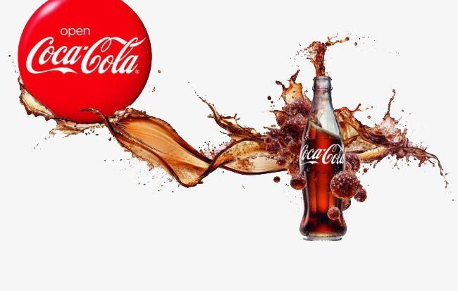 Coca - Cola publicidad creativa, Anuncio De Coca Cola, Publicidad Creativa, Coca - Cola Splash Imagen PNG