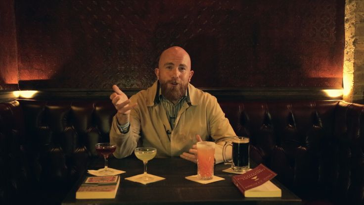 A still image from the fourth video in our literary drinks series, this time inspired by Lucky Jim by Kingsley Amis Video: https://www.youtube.com/watch?v=InAGxmAw2a8  Enjoy :)  R.G Rankine www.thinkingplainly.com